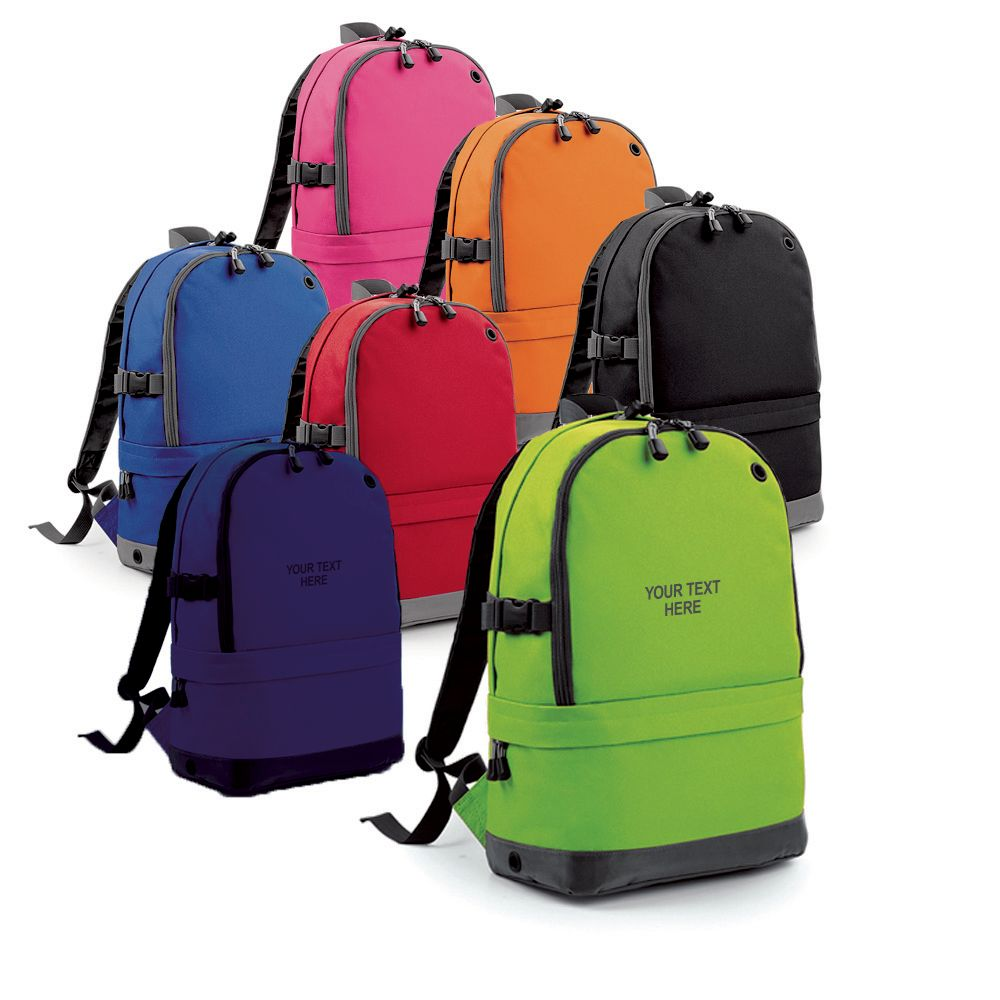 Backpack With Multi Compartments